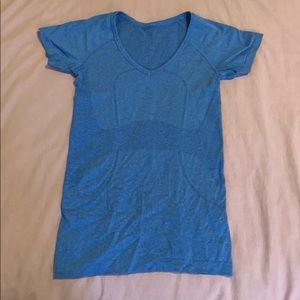 LULULEMON blue short sleeve